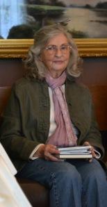 Freeda Baker Nichols at her book signing at Hemingway Writers' Retreat in Piggott, Arkansas