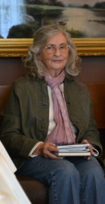 Freeda Baker Nichols at her book signing at Hemingway Writers' Retreat in Piggott, Arkansas