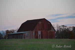 Barn at Evening