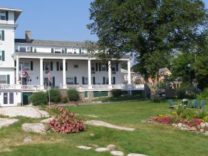 This lovely bed and breakfast--the Emerson Inn by the Sea--is where Ralph Waldo Emerson spent some time.
