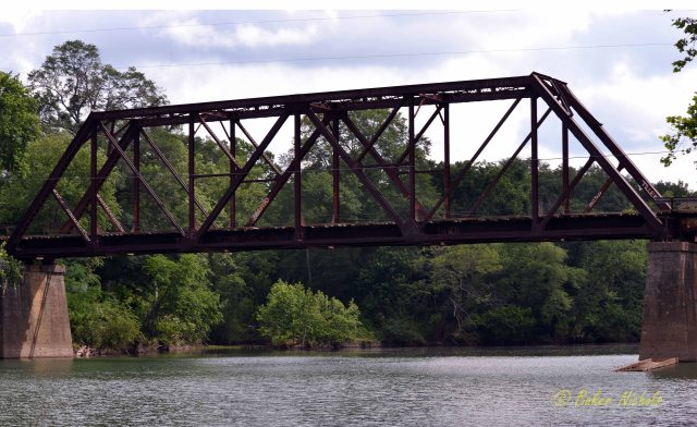 Train Bridge at Shirley, Arkansas