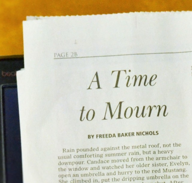 A Time to Mourn