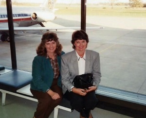 Freeda Baker Nichols & Yvonne Baker Hall